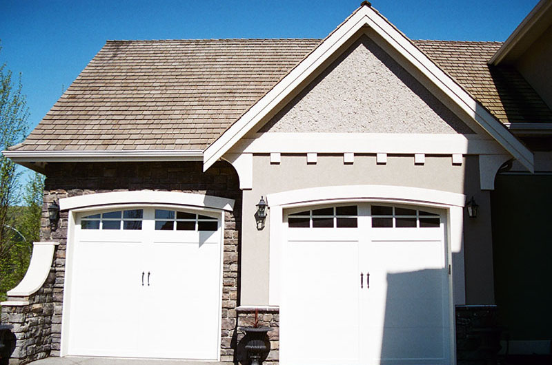 Design Stucco - Garage